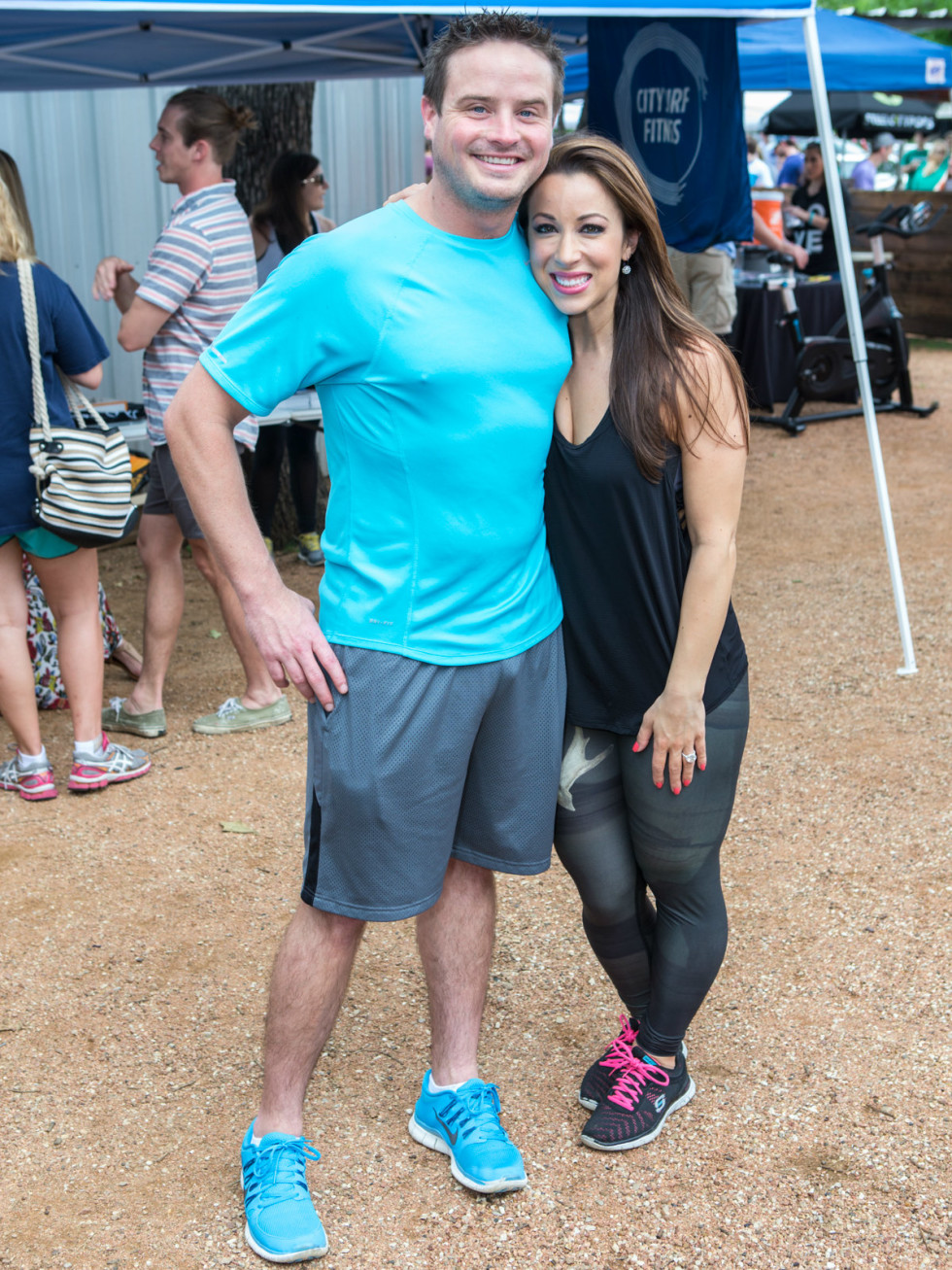 Heath Oakes, emcee Jenny Anchondo, weekend anchor of Fox4-TV's Good Day Dallas