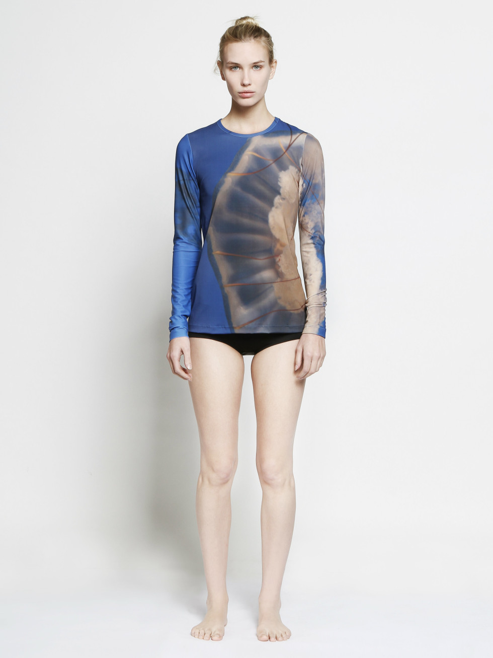 Cover jellyfish long sleeve top at TenOverSix