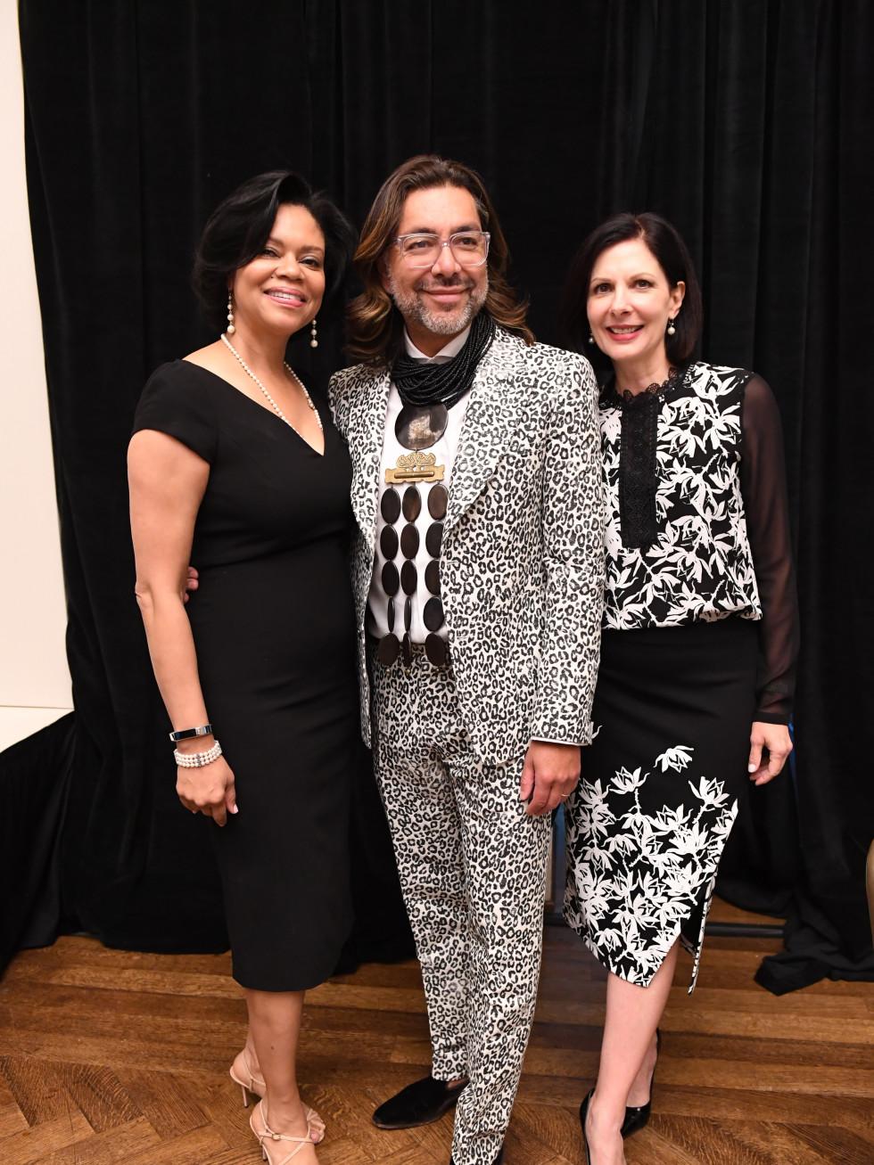 Passion for Fashion Luncheon Suzette Brimmer, Ceron, Jeanne Ruberti