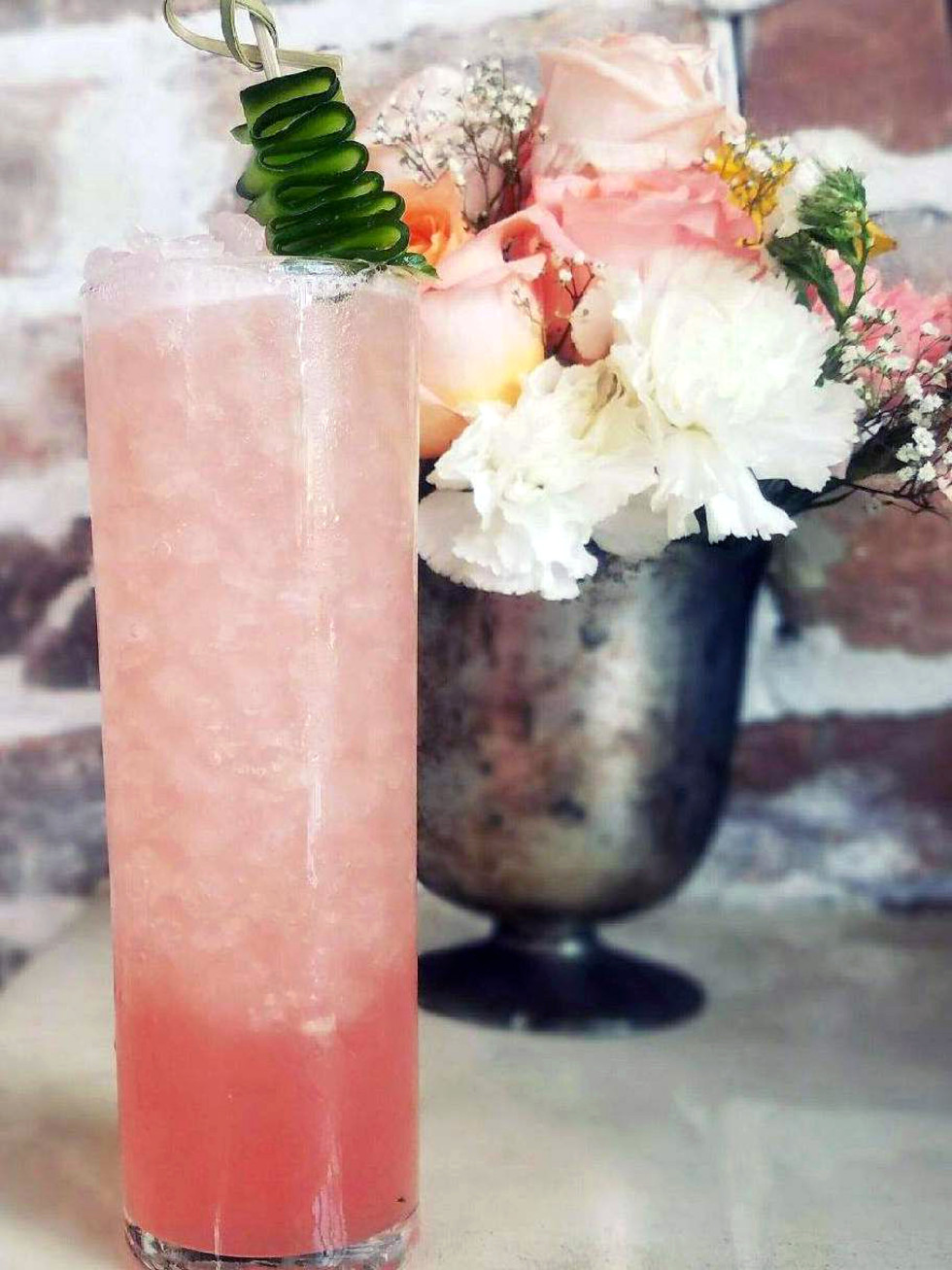 Houston, new happy hour deals, May 2017, Worchester's Annex, fino fresca cocktail