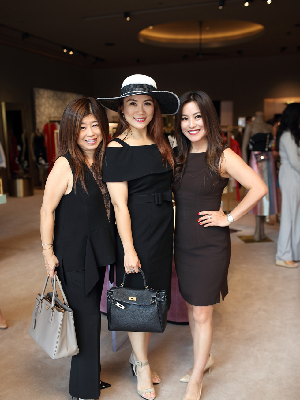 Rose Chen, Christina Zhou, Gina Li at The Webster party