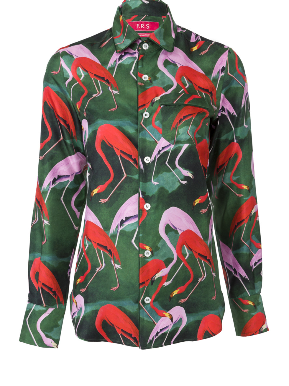 For Restless Sleeps flamingo patterned pajama top The Webster Lane Crawford collaboration