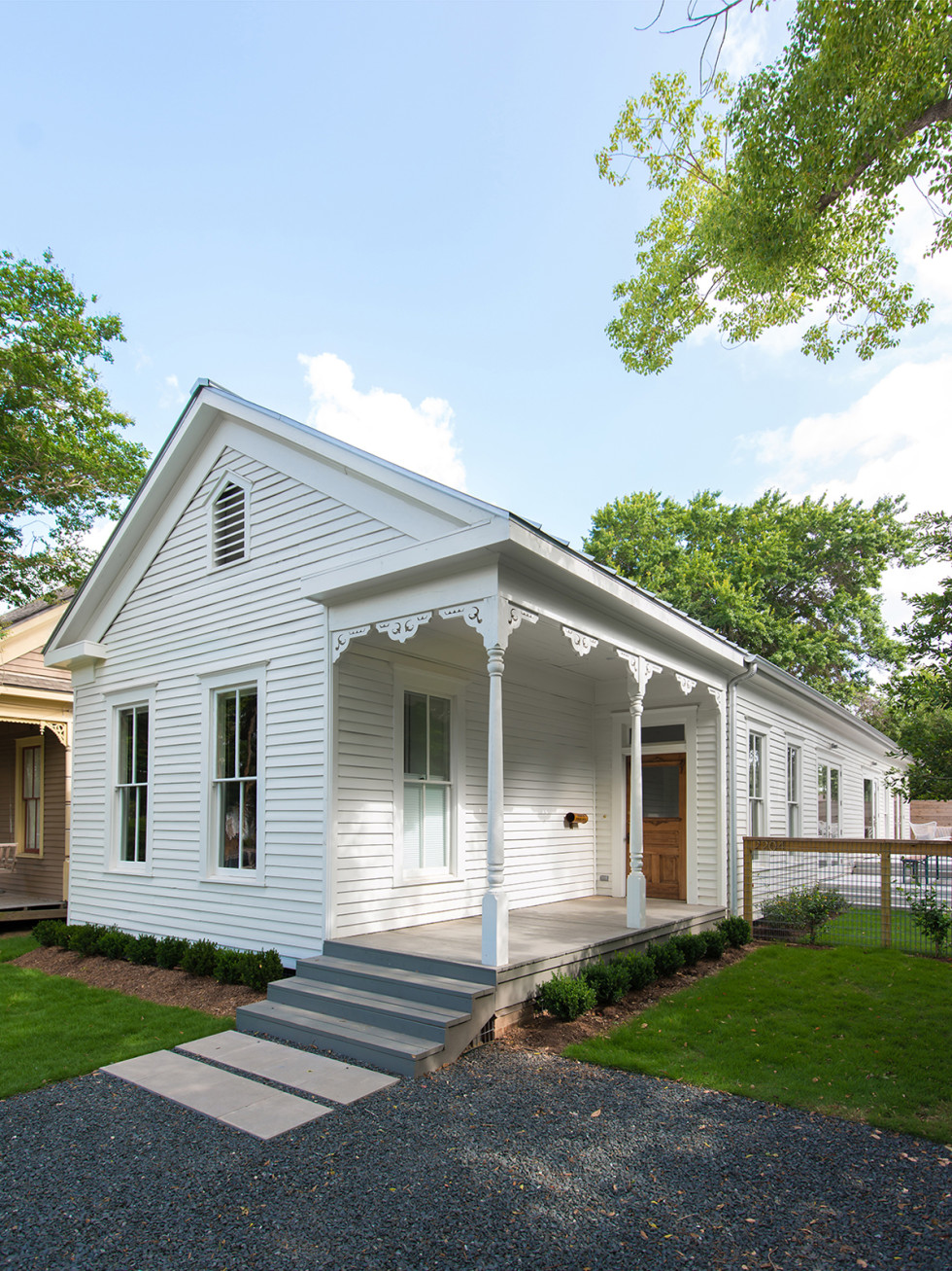 Good Brick Awards 2015 Carl Hollimon Victorian cottage in Old Sixth Ward Historic District
