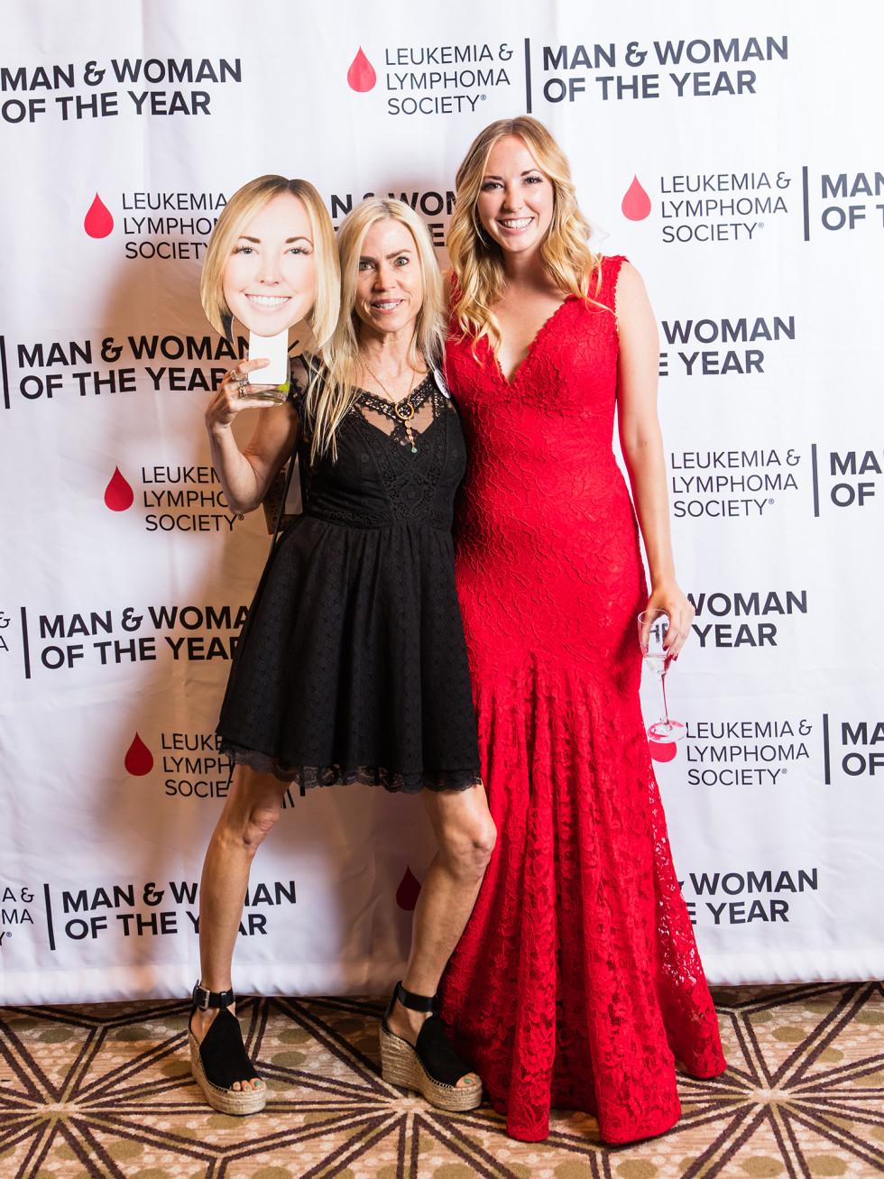 Leukemia & Lymphoma Society's Man and Woman of the Year Grand Finale Gala 2017 Leah Lee Kelsy Kuehn