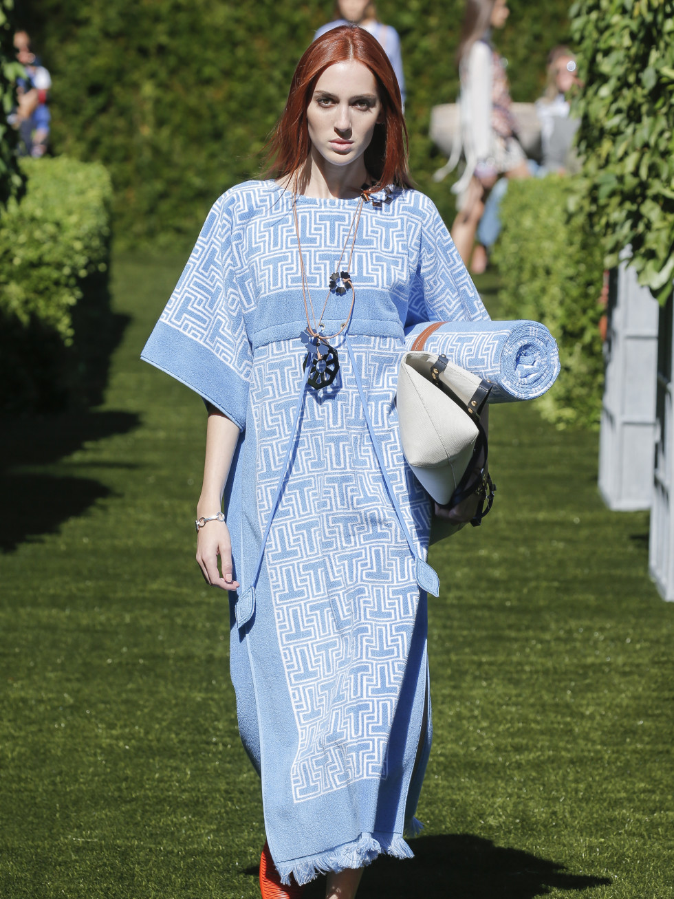 Tory Burch spring 2018 look 25