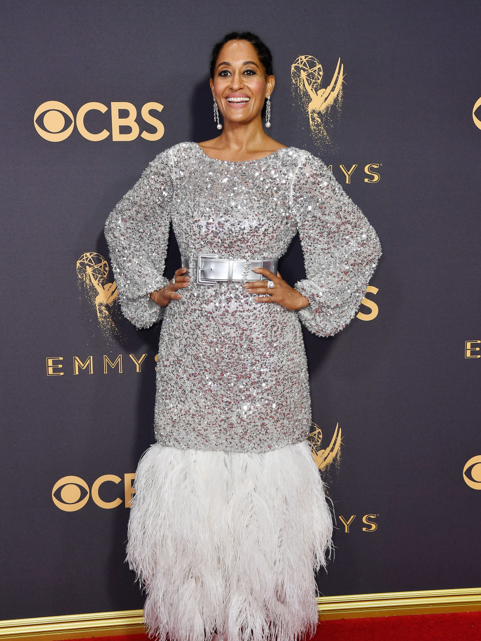 Tracee Ellis Ross in Chanel at Emmy Awards 2017