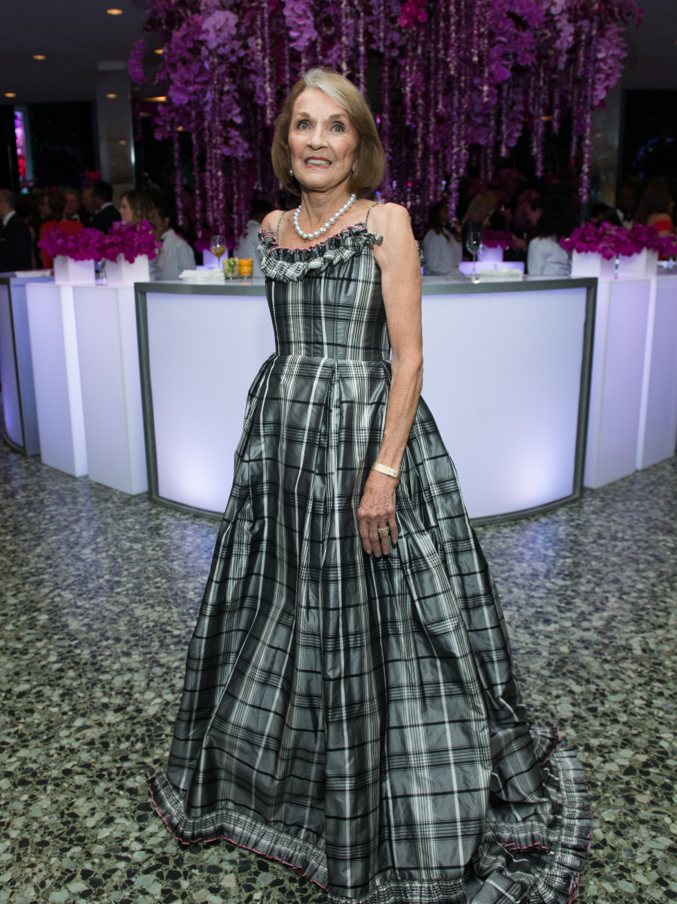 Mickie Huebsch MFAH Grand Gala Ball 2017
