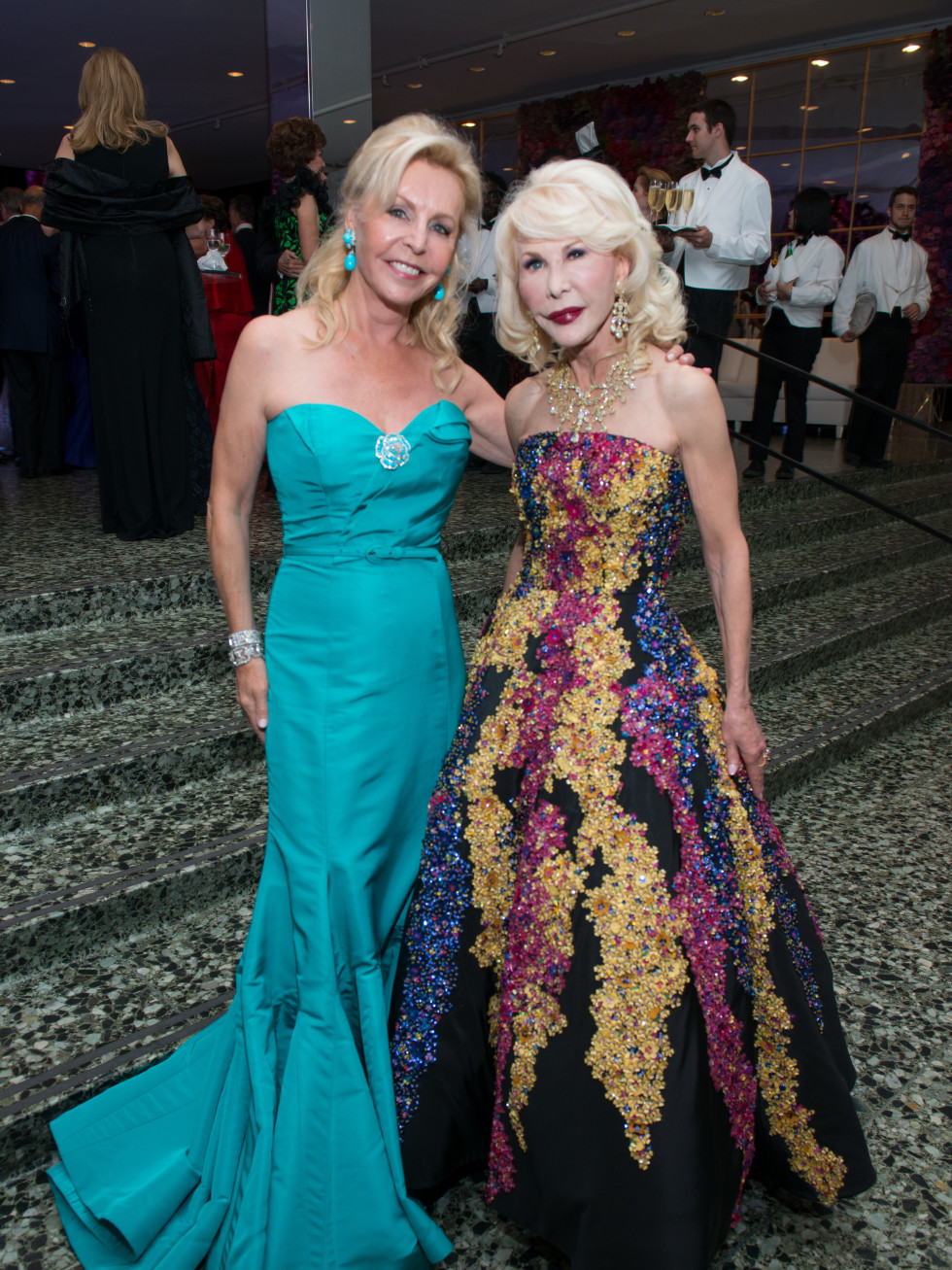 Houston, MFAH Oscar de la Renta Ball, Suzanne Byram, Diane Lokey Farb