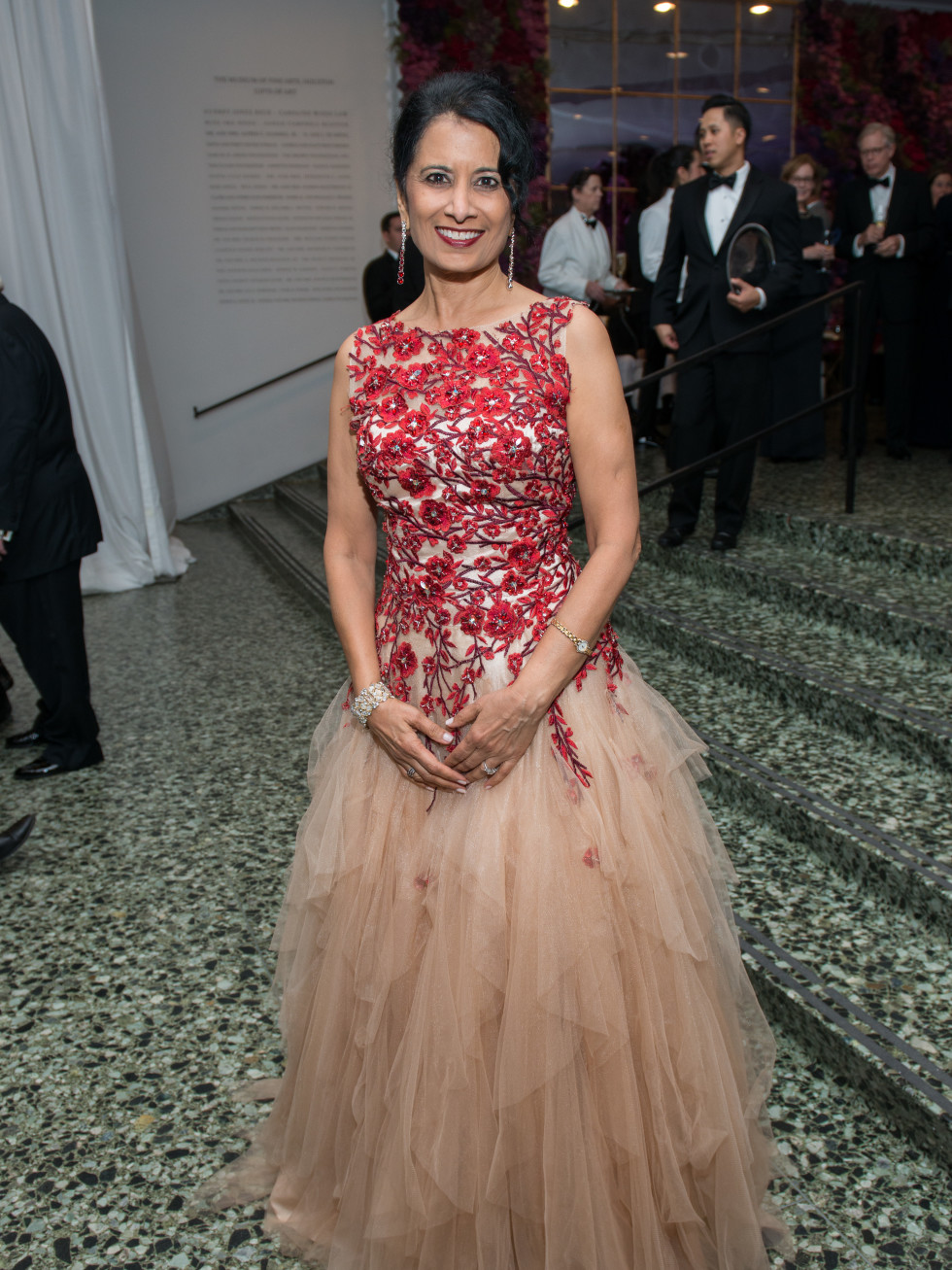 Houston, MFAH Oscar de la Renta Ball, Renu Khator