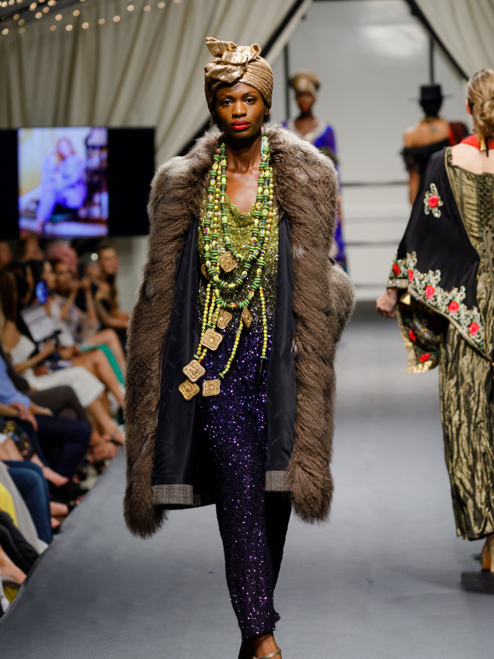 look from carolyn farb at Fashion X Houston