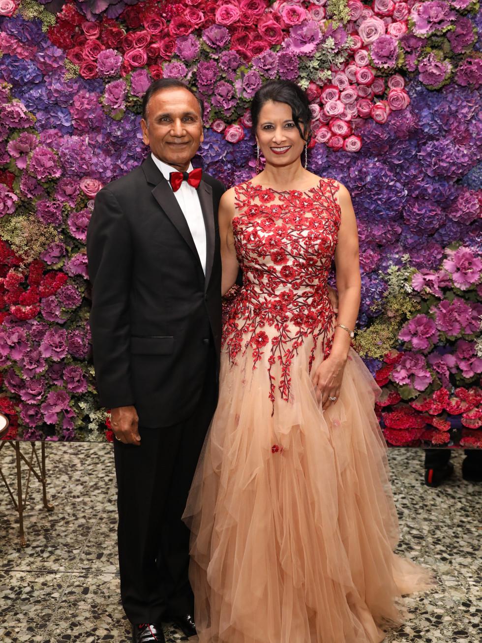 Suresh and Renu Khator at MFAH Grand Gala Ball