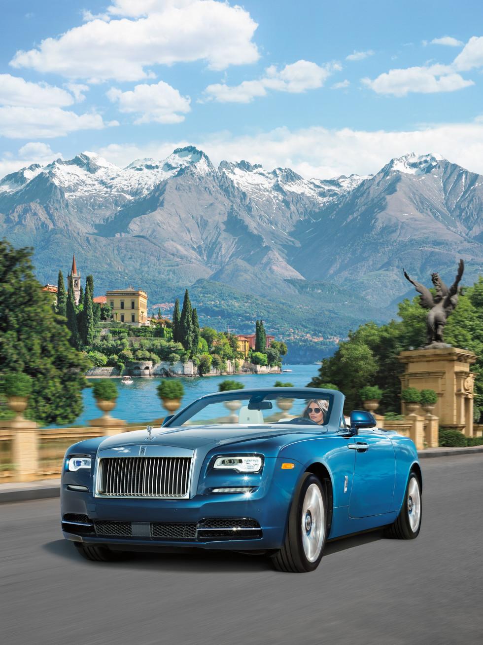 Rolls Royce Dawn blue, NM Fantasy Gifts 2017