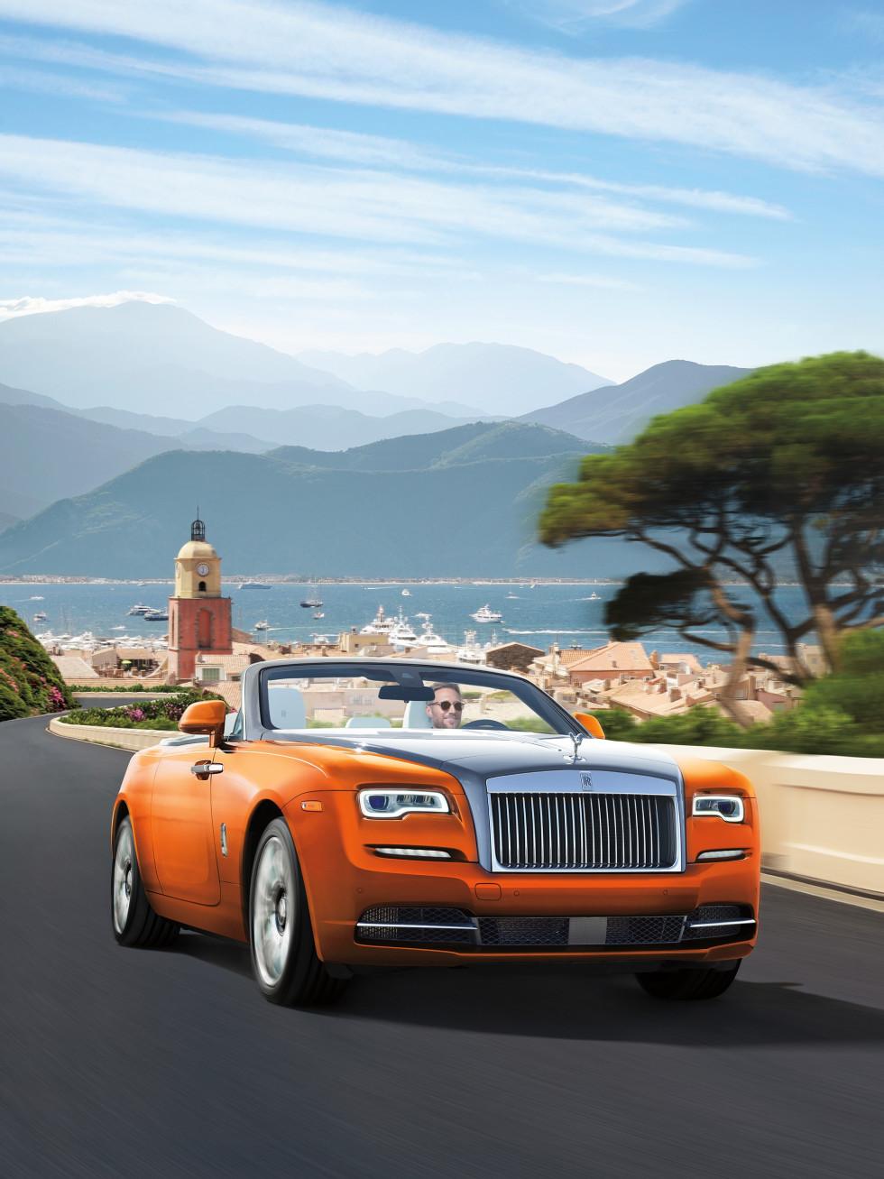 Rolls Royce Dawn orange, NM Fantasy Gifts 2017