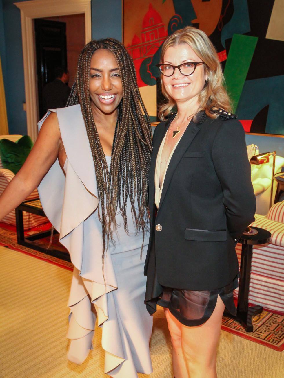 Tiffany Smith, Layla Salek at Legacy Cocktail Party