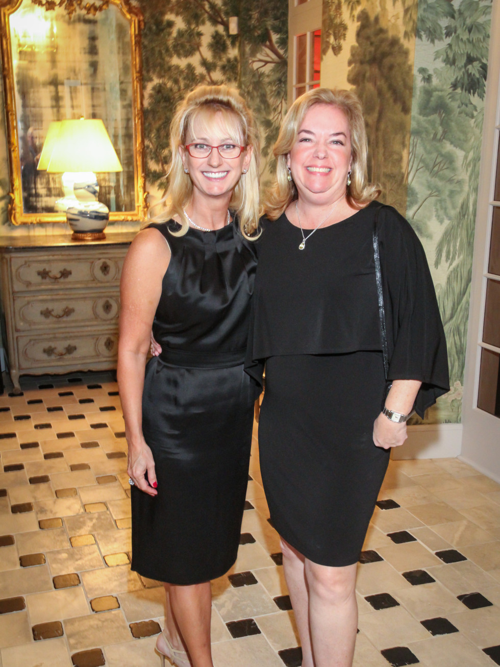 Stef Levy, Laura Favaloro at Legacy Cocktail party