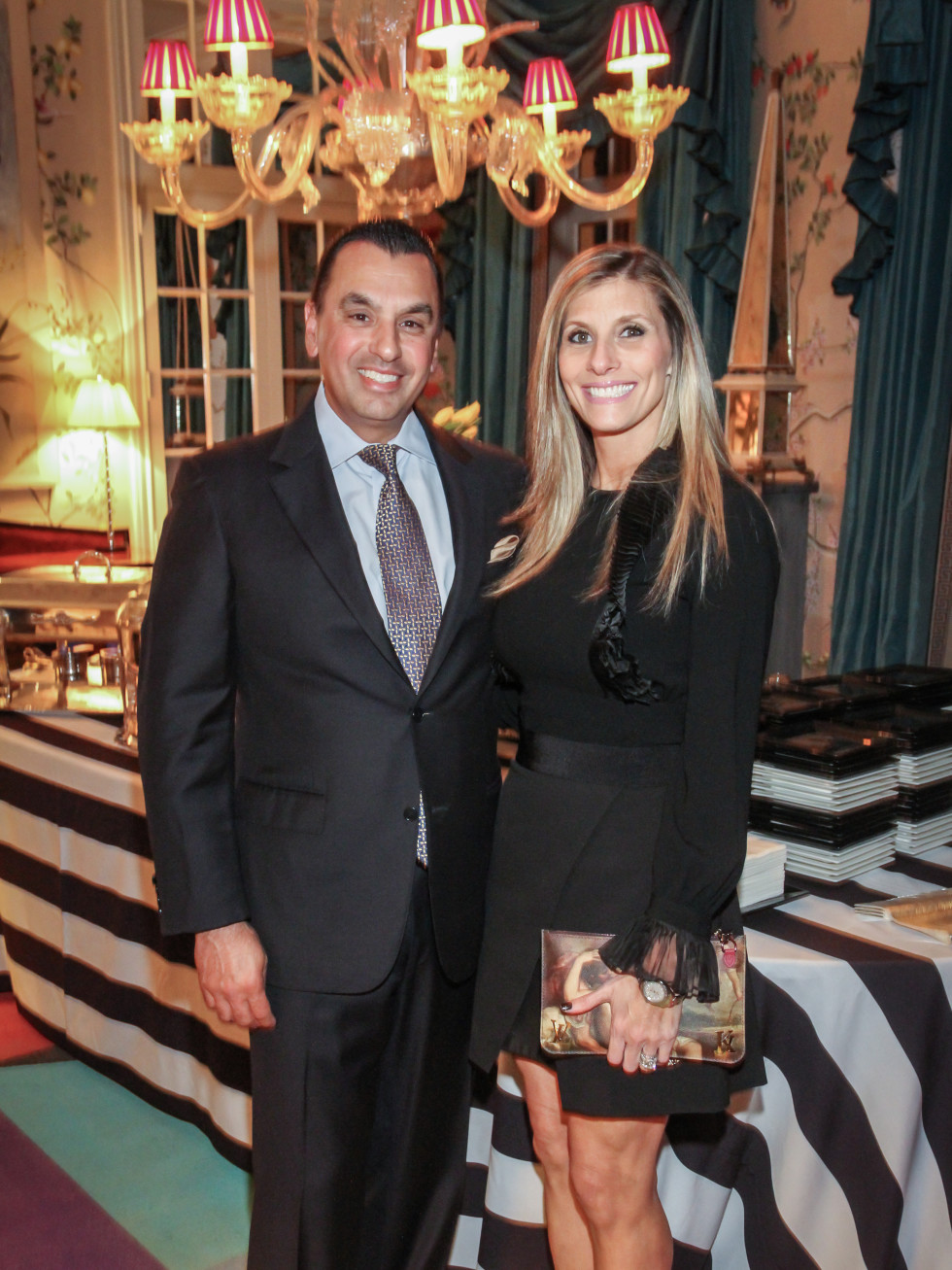 Devinder and Gina Bhatia at Legacy cocktail party
