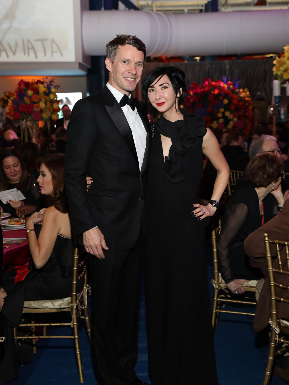 Carrie and Sverre Brandsburg-Dahl at Houston Grand Opera 2017