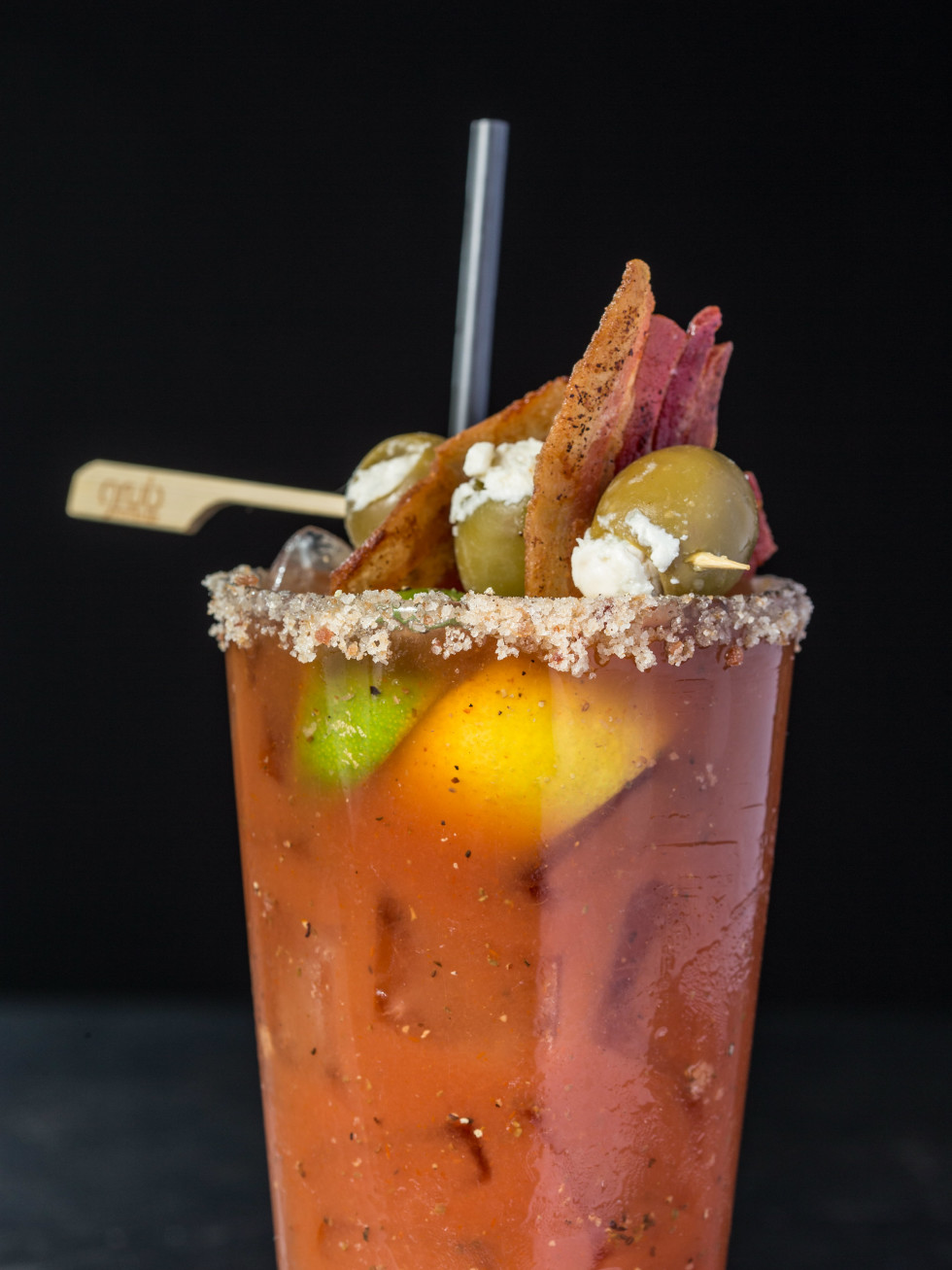 Bacon-infused Bloody Mary
