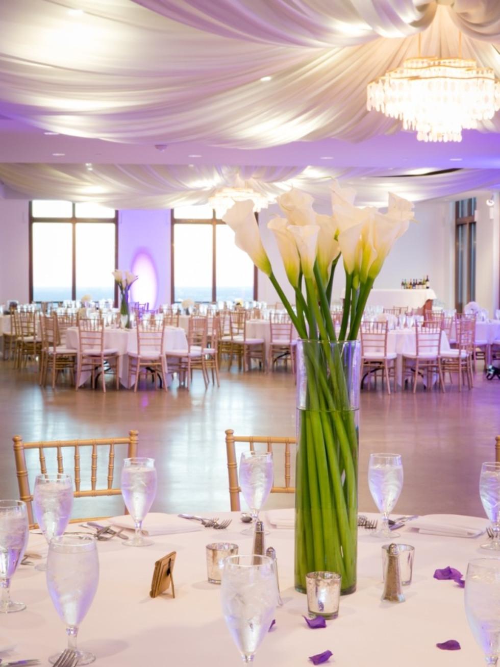 Upshaw wedding, tables
