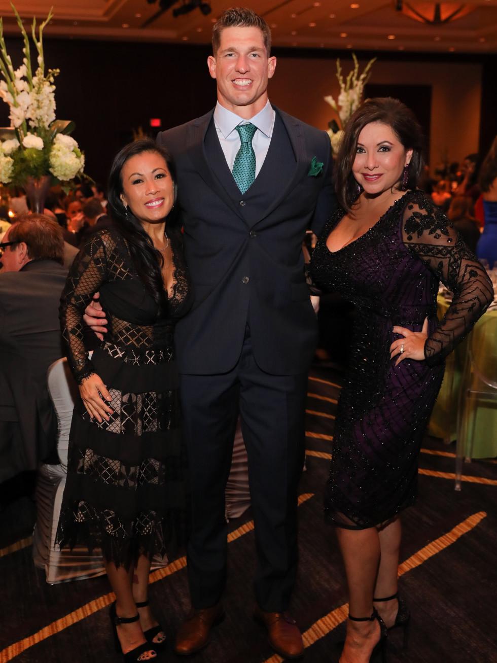 Chau, Brian and Debbie at Festari Gala