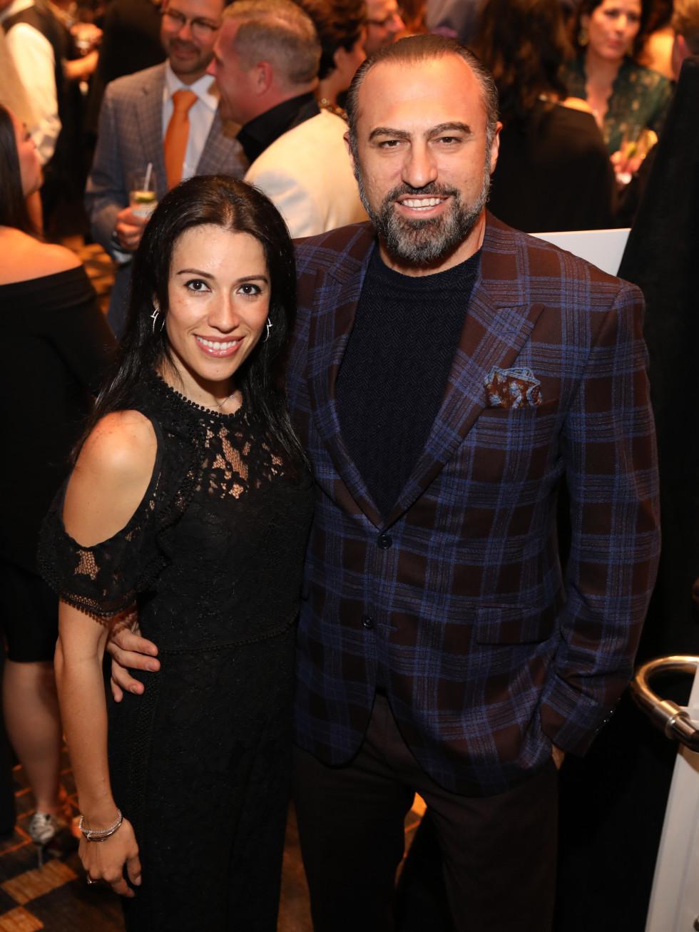 Carmen and Kiki Dikmen at Festari Gala