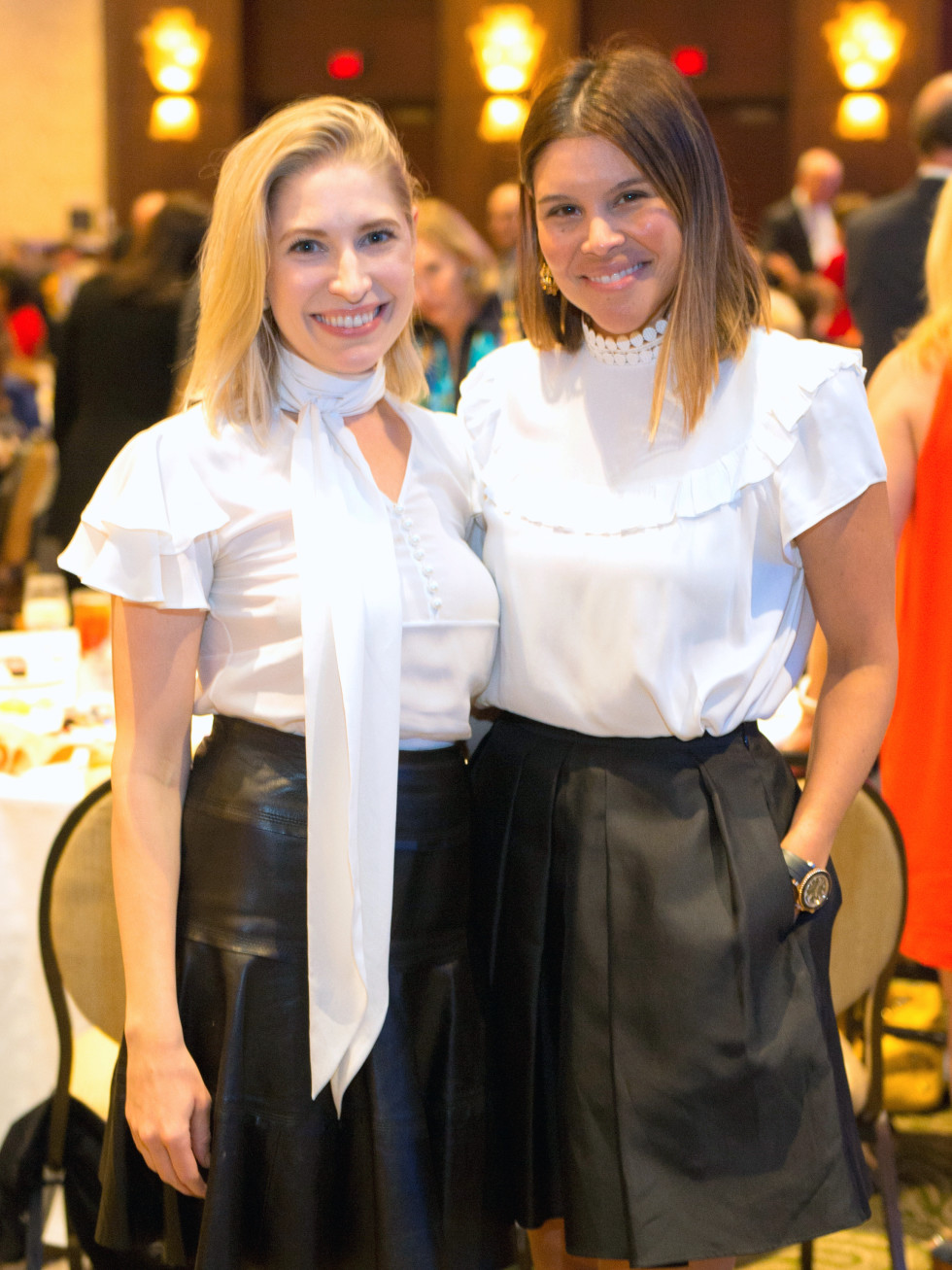 Houston, University of Texas at Austin Guardian of the Human Spirit Award Luncheon, November 2017, Isabel David, Estela Cockrell