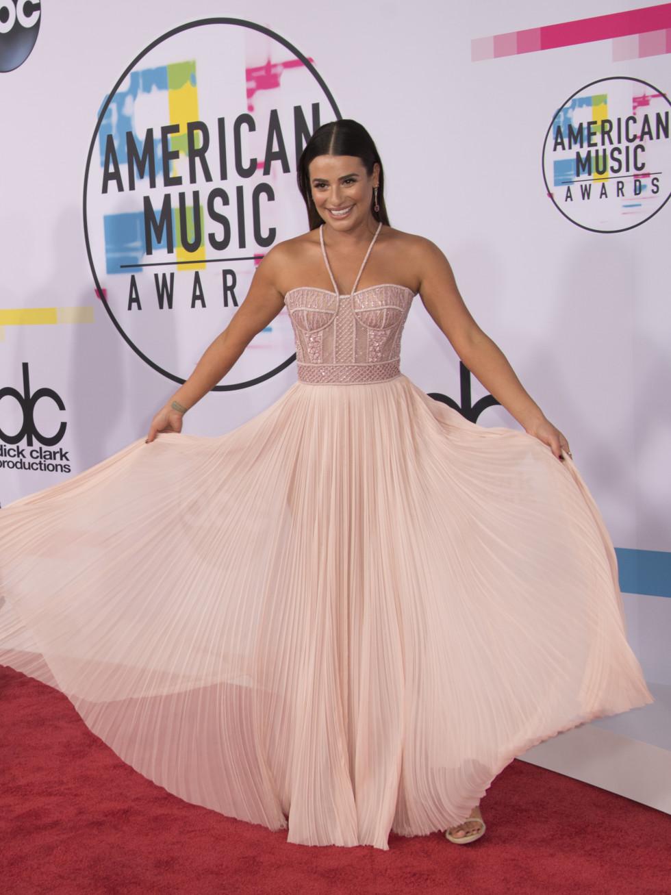 American Music Awards Lea Michelle