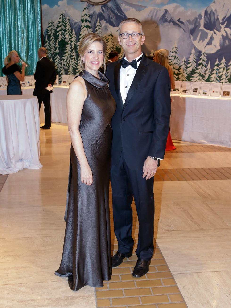 Cheryl Joyner, Richard Joyner, Crystal Charity 2017