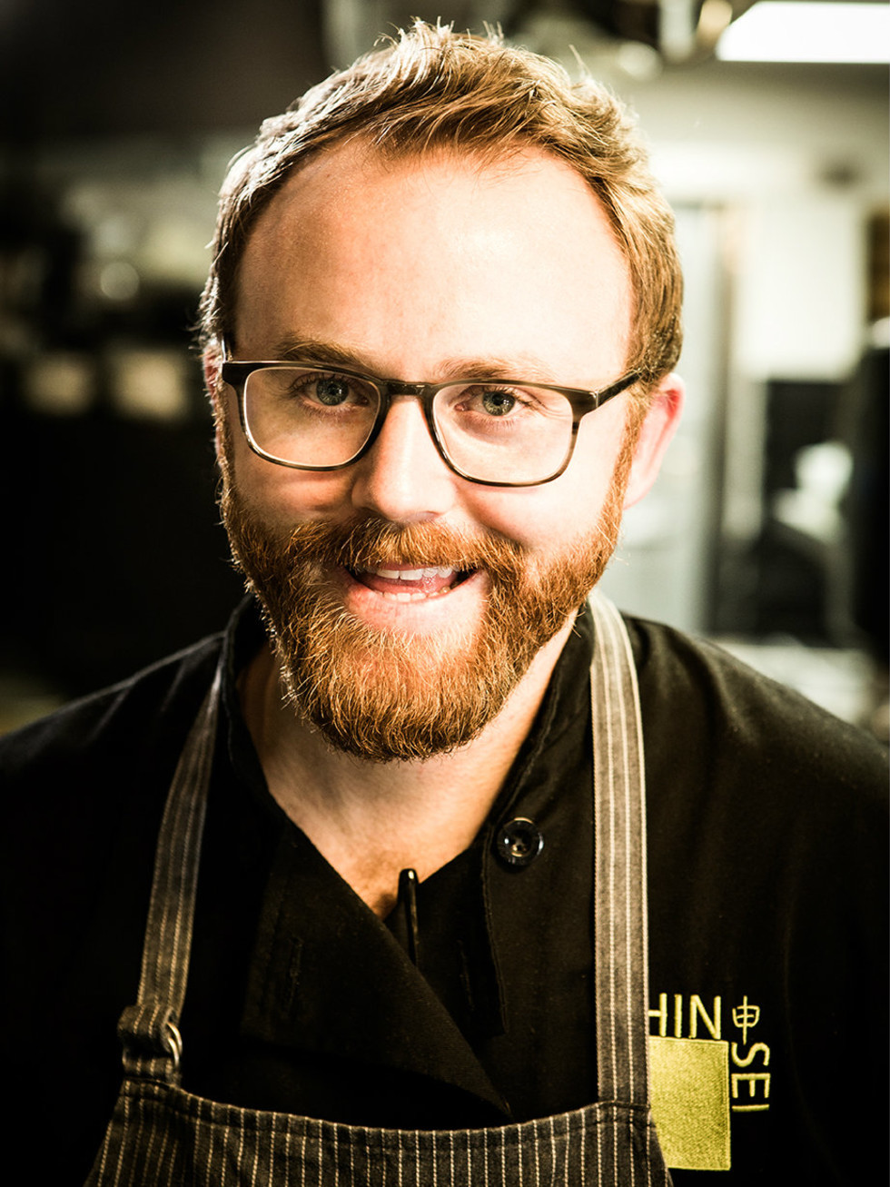 Shinsei executive chef Jeramie Robison
