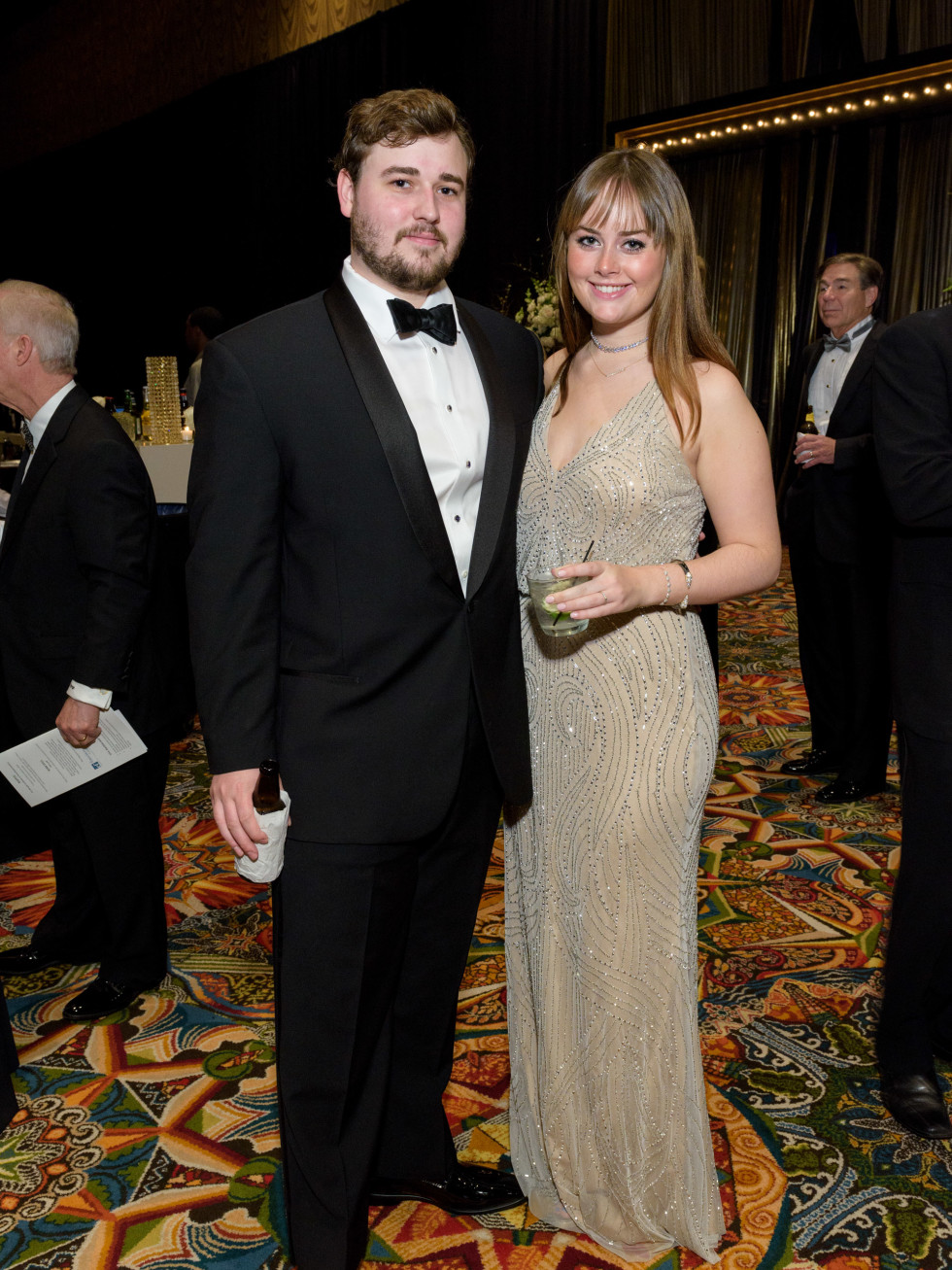 Ross Smith and Sarah Smith Winter Ball