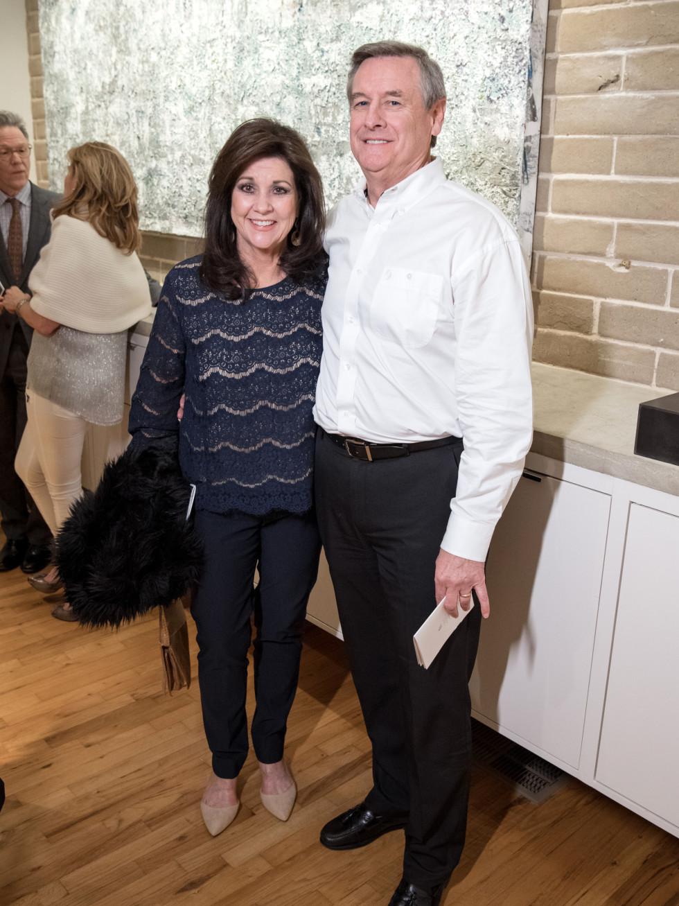Dallas, LR Art House opening, January 2018, Joy Miller, Russ Miller