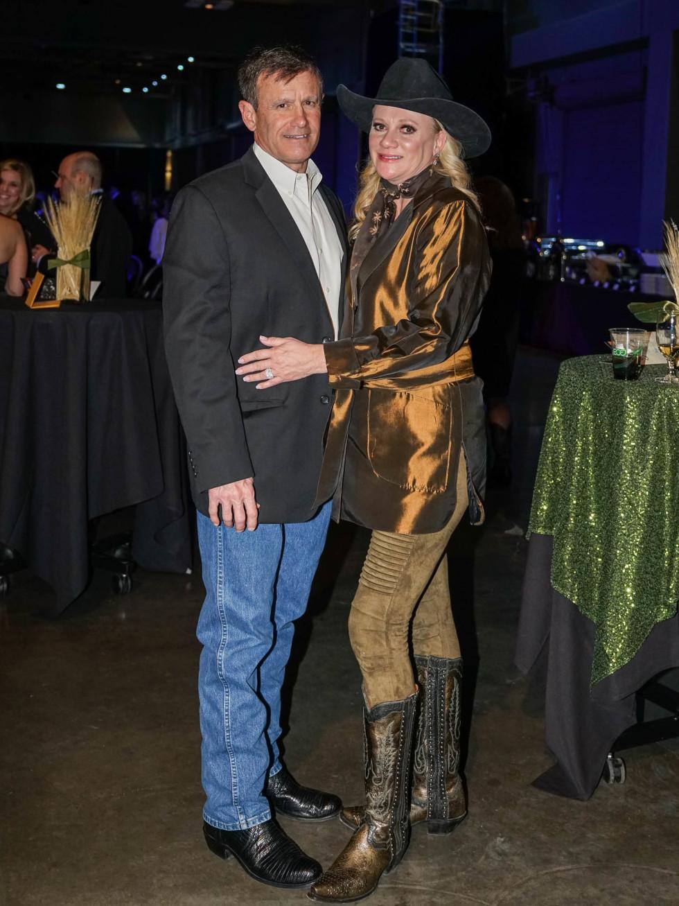 Austin Rodeo Gala 2018 Fashion Steve Stiles Kelly Stiles