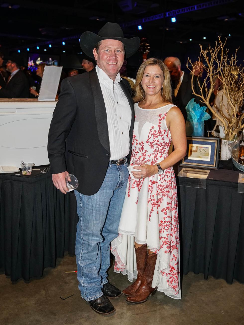 Austin Rodeo Gala 2018 Fashion Clint Jones Angie Jones