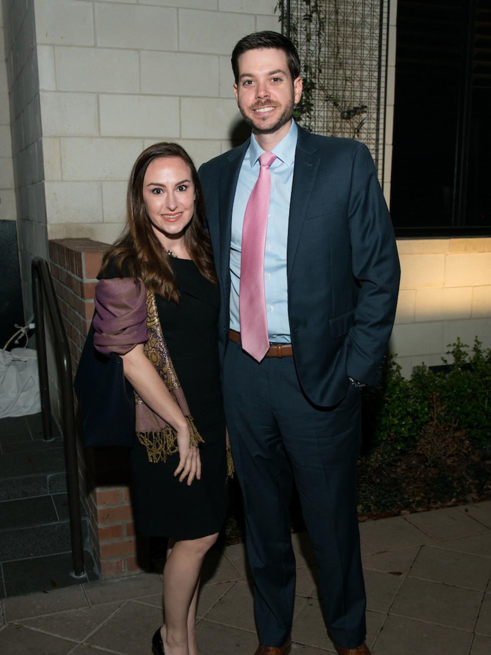 Beth Brown and Matt Elwell