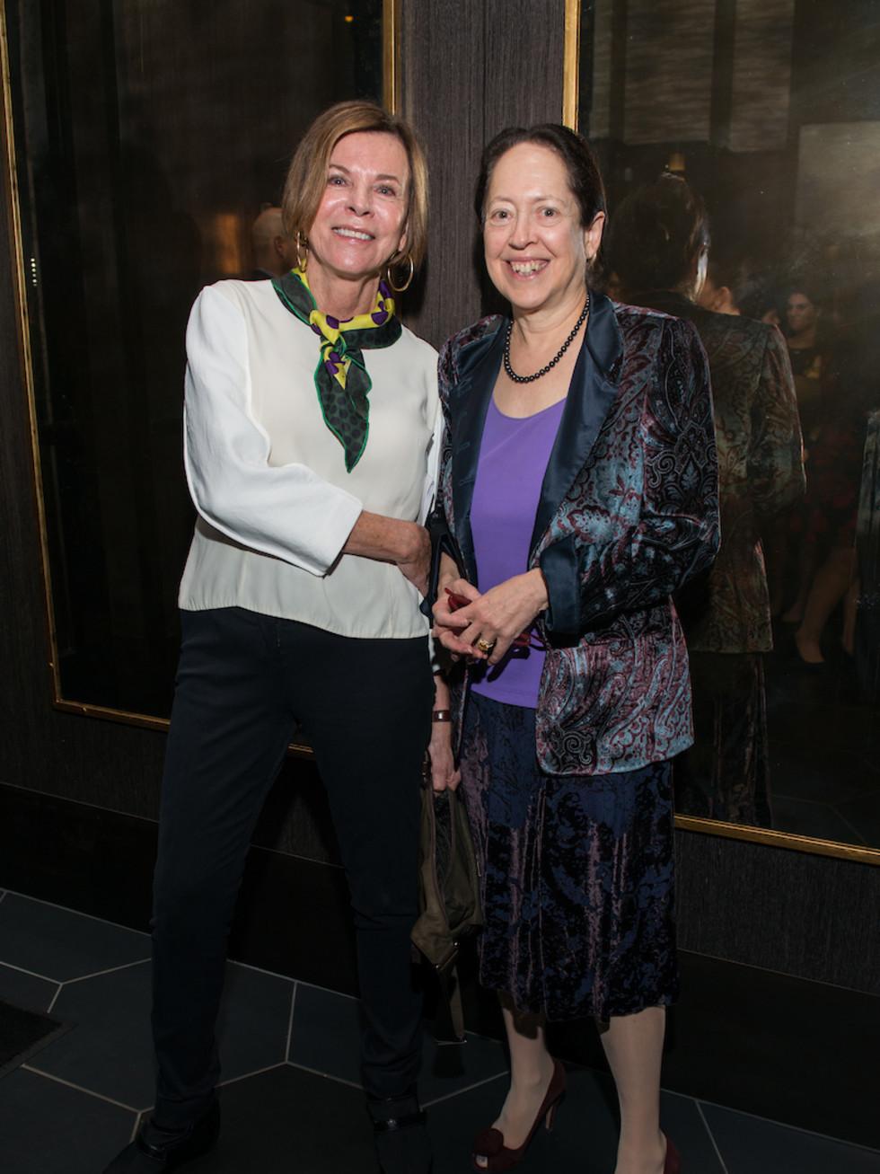 Dr Susan Landy and Dean Barbara Stoll