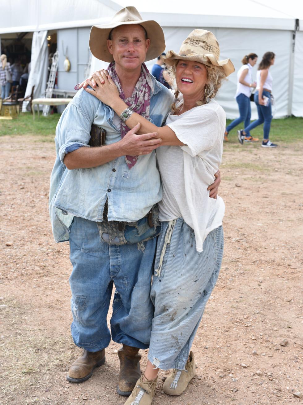 Robin Pearl Brown and John Gray at Magnolia Pearl Round Top