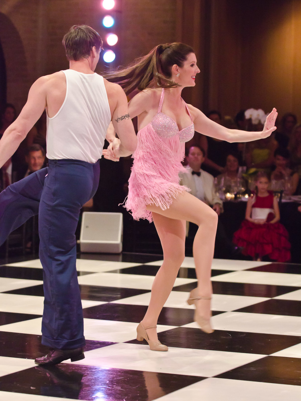 News_Dancing with Houston Stars_Phoebe Tudor_Phillip Broomhead