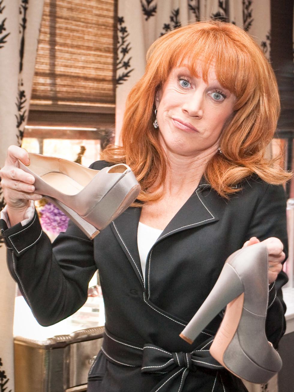 News-Fashion Week Spring 2010-Kathy Griffin