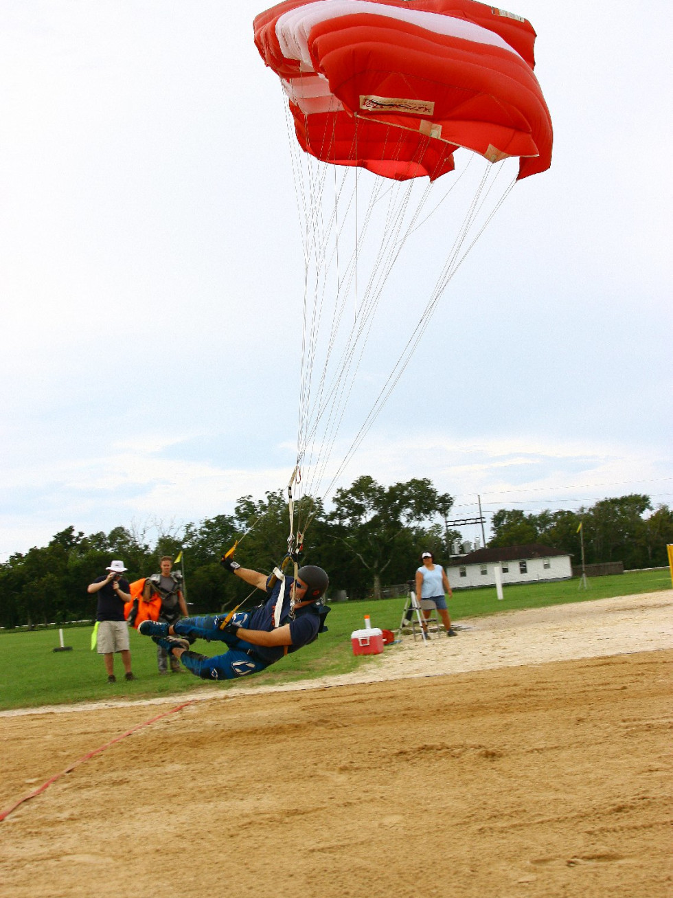 Houston skydiver dirt