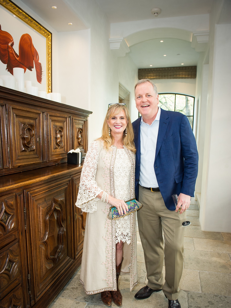 Gwen and Doug Parker, United Way