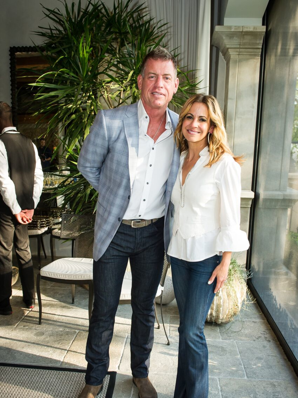 Troy and Capa Aikman, United Way