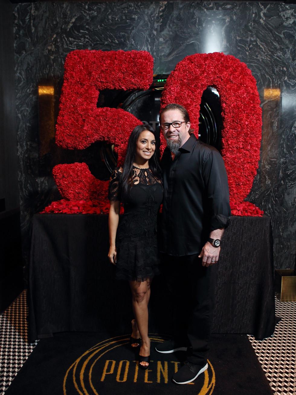 Jeff Bagwell 50th birthday Potente Jeff Bagwell Rachel Bawell