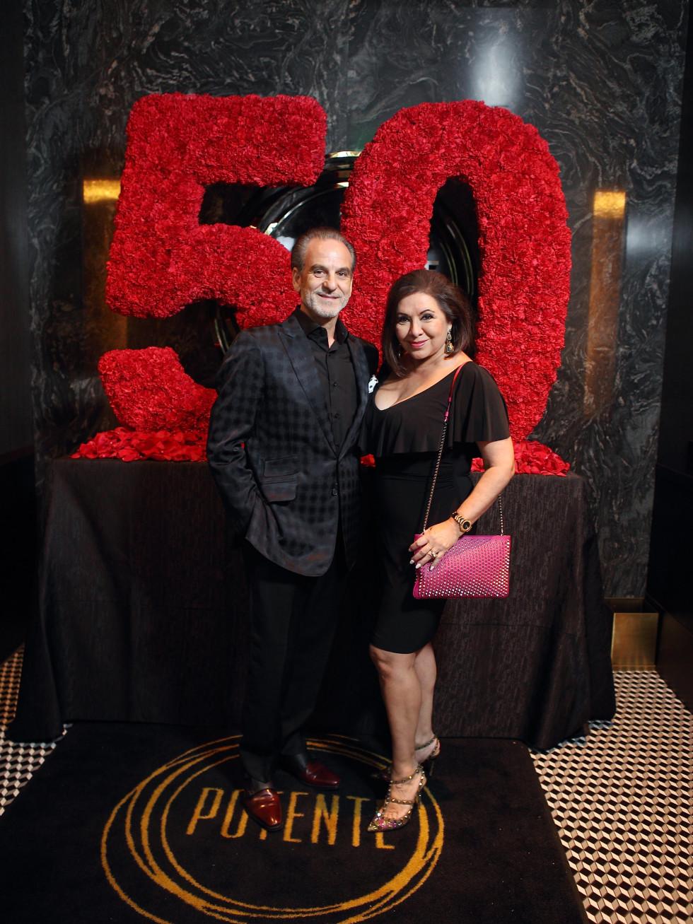 Jeff Bagwell 50th birthday Potente Rudy and Debbie Festari