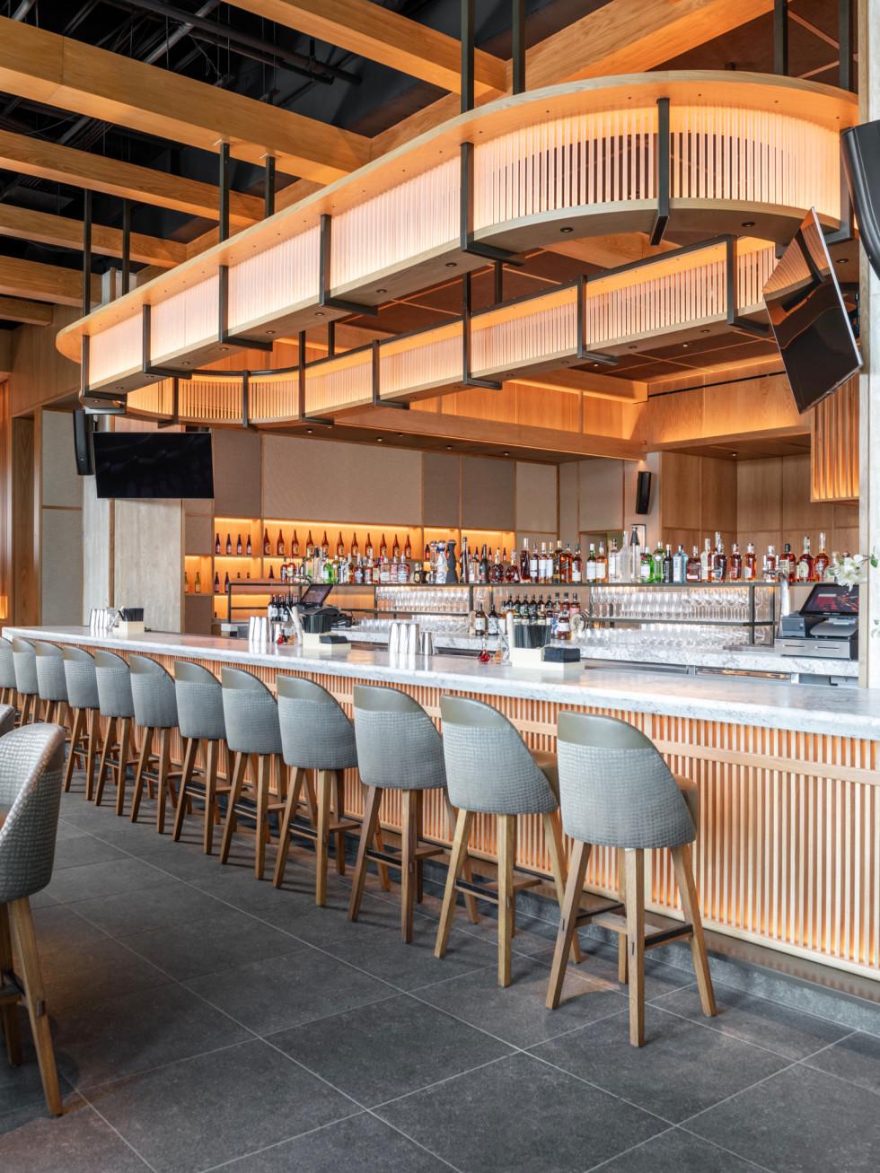 Nobu Houston bar interior