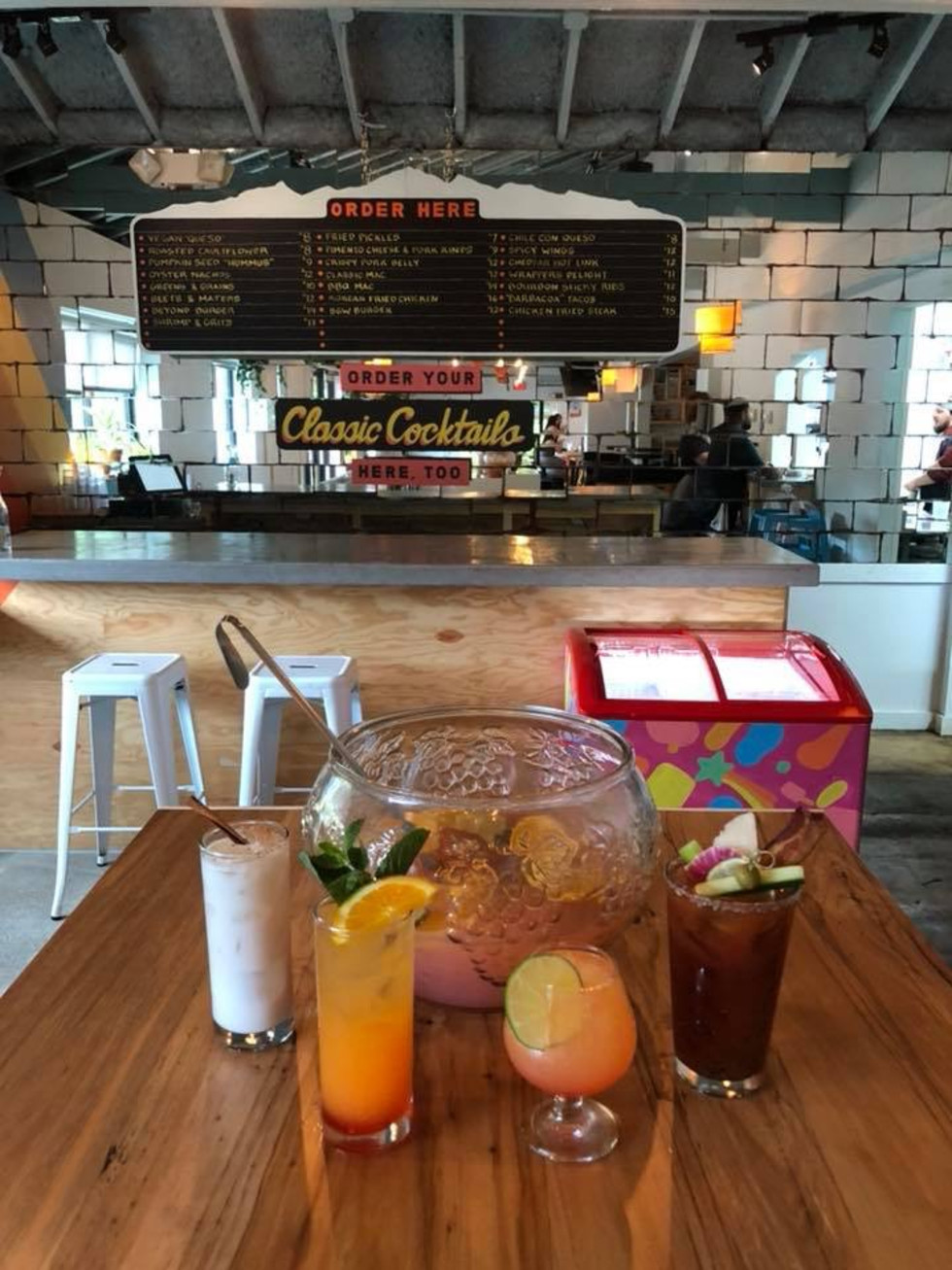 Beaver's original brunch cocktails