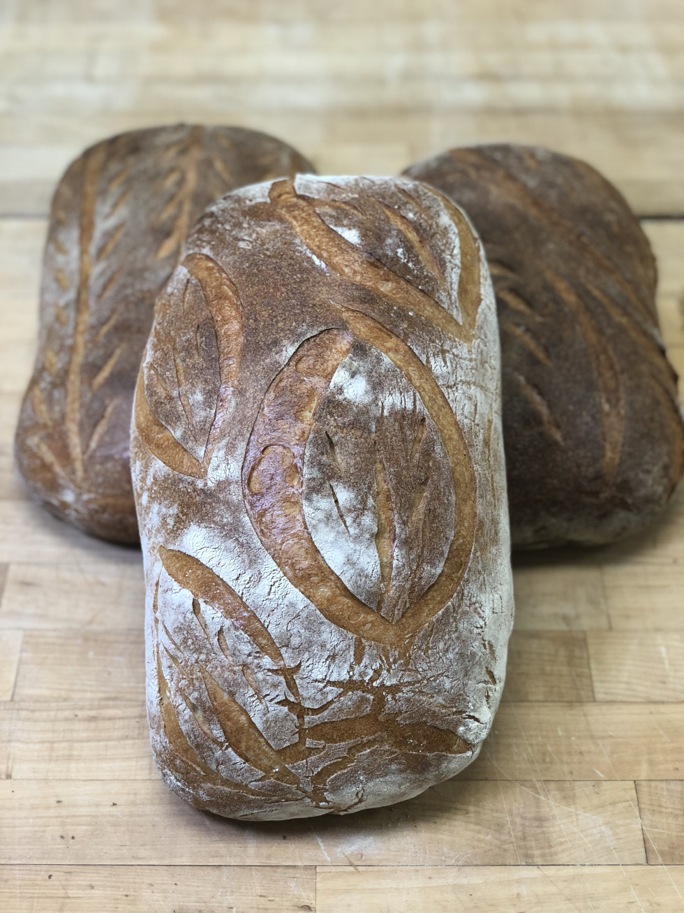 Bread Man Baking Company Greek village bread