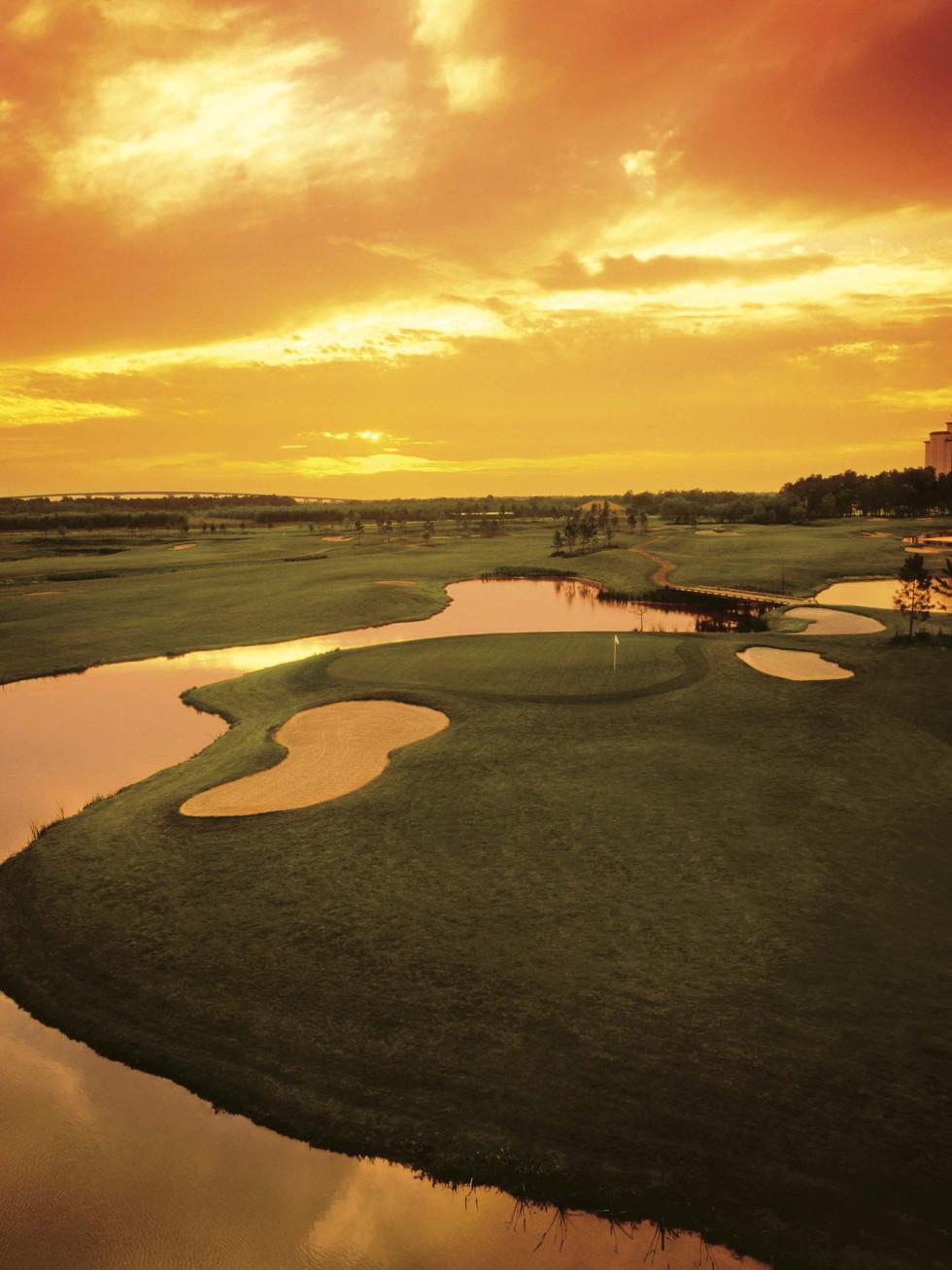 Contraband Bayou Golf Club at L'Auberge Casino Resort