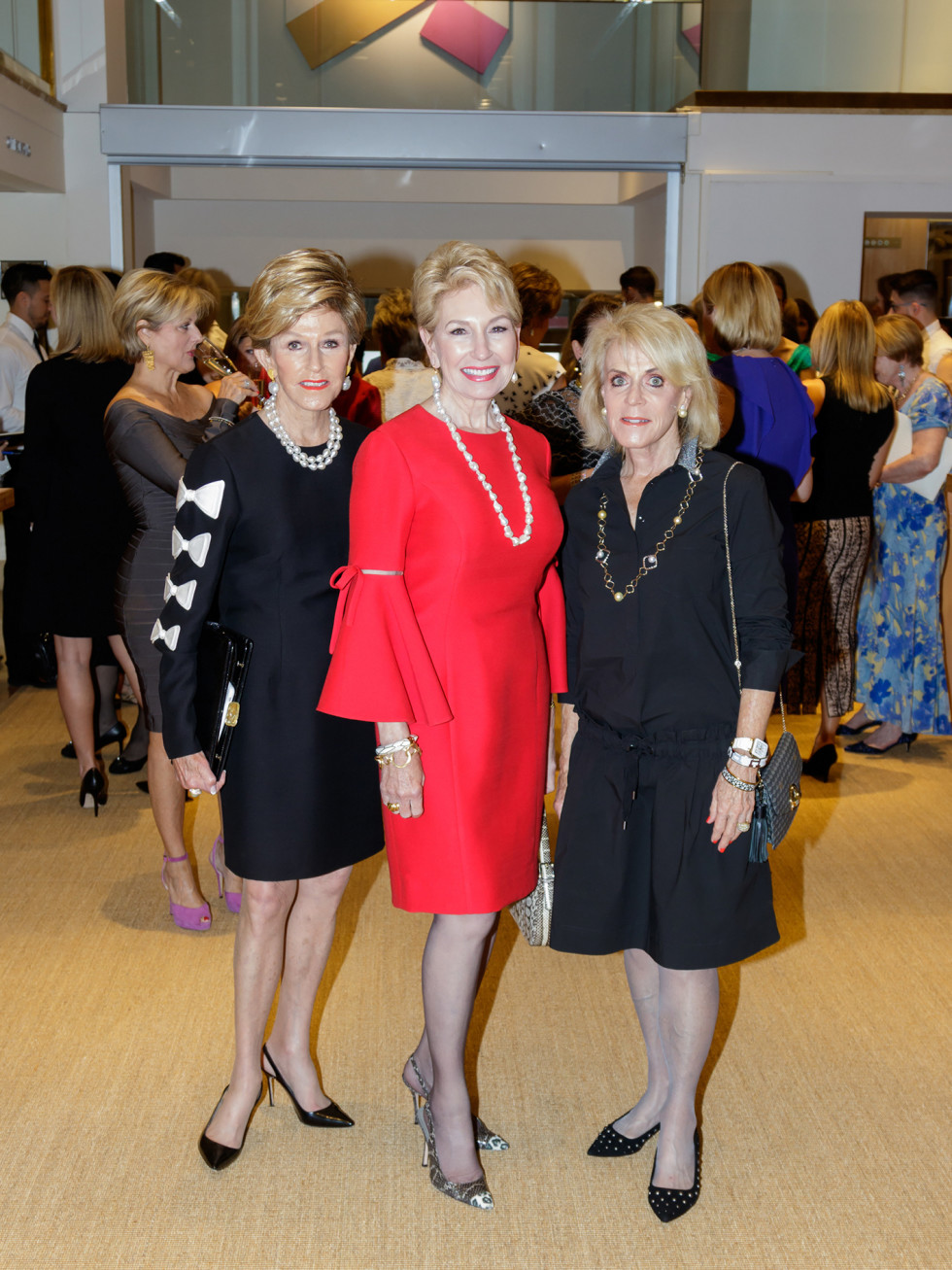 Diane Moss, Connie Doré, Sally Berry