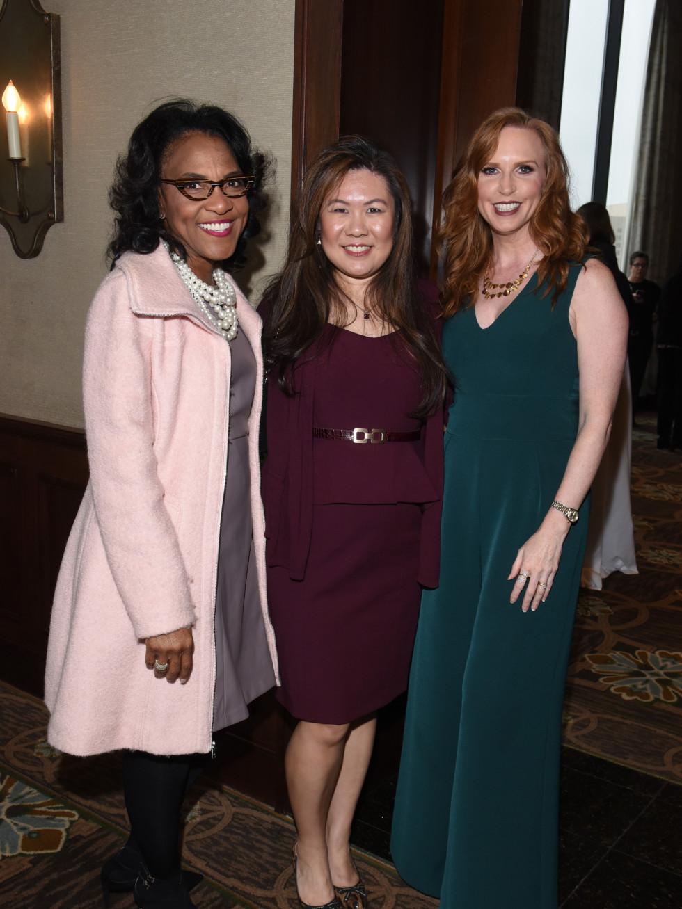 Dr. Cathy W. Moffitt, Patsy Yung Micale, Jennifer Owens