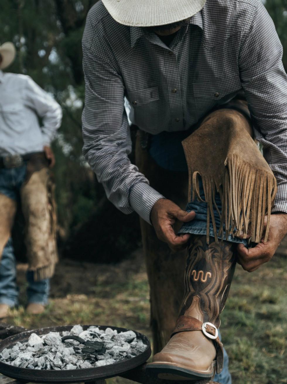King Ranch cowboy boots